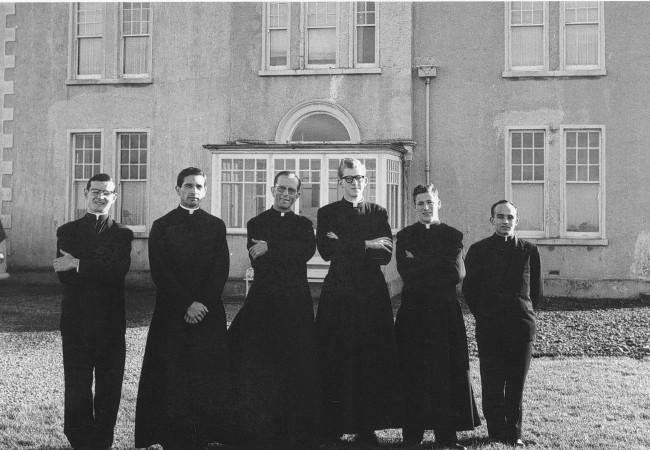 La Legión. Maciel en Irlanda en noviembre de 1960.